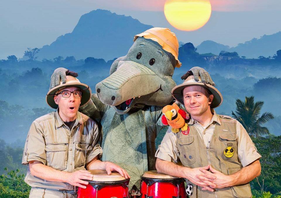 WED 10.4. at 9.30 Arne Alligator i farten!