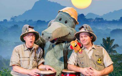 Ons 10.4. kl. 9.30 Arne Alligator i farten!