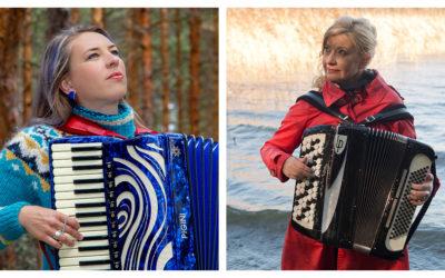 Su 18.8.2019 klo 15 Harmonikkakonsertti saariston syleilyssä: Maria Kalaniemi & Tuulikki Bartosik (EE)