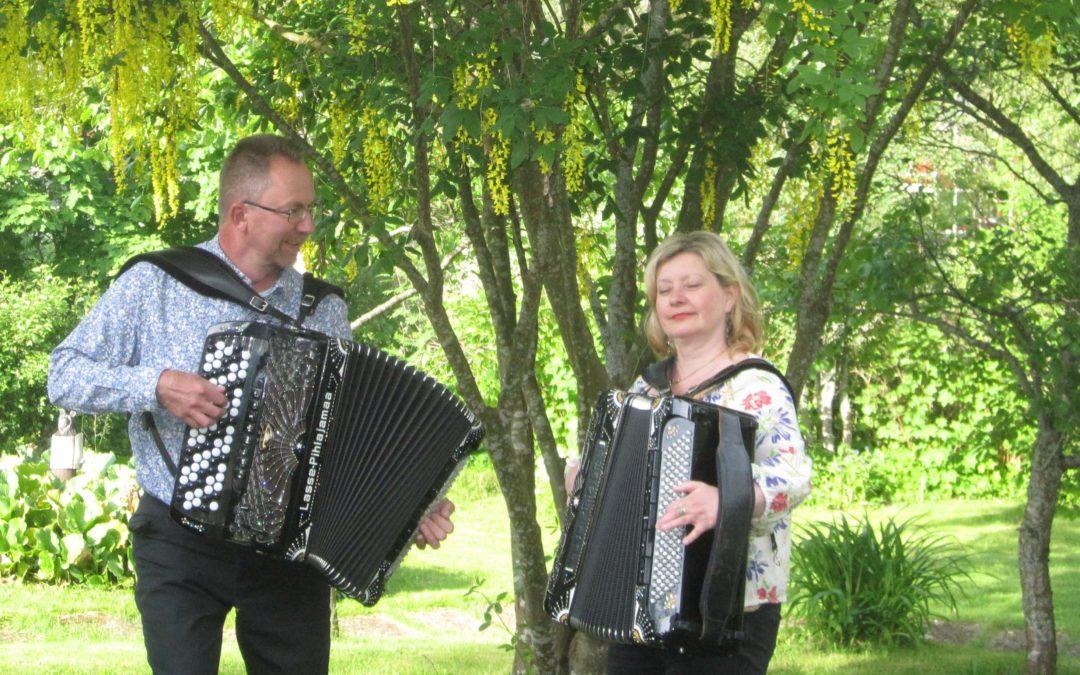 WED 1.4. at 19 Aspö spelmän, Maria Kalaniemi & Pekka Pentikäinen