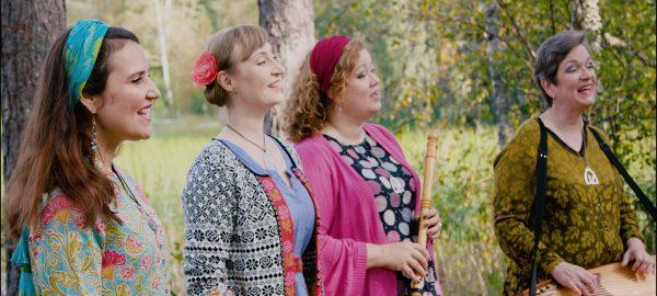 lö 28.3. kl. 18 Hänförd i Haltia – Naturen i toner: Duo Selina, Suden Aika